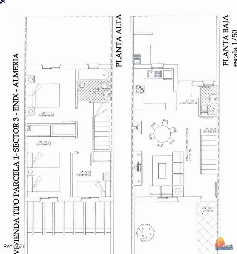 Radhus i 2 plan till salu i Enix, 90.000